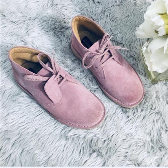 Clarks Shoes | Clarks Desert Boot Pink